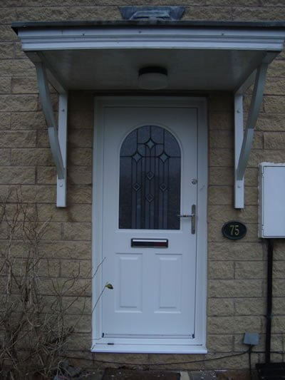 Traditional style windows and doors replacement rishton for Domestic front doors
