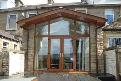 Glass Extension To Terrace House Rishton Glass And Windows