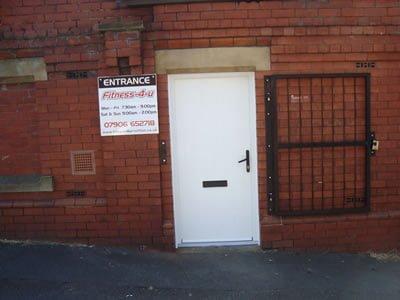 Composite Commercial Door
