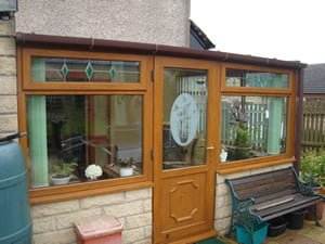 Sloping Roof Conservatory