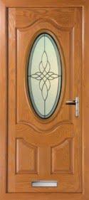 Oval Composite Doors