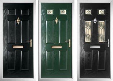 Radiant Composite Door