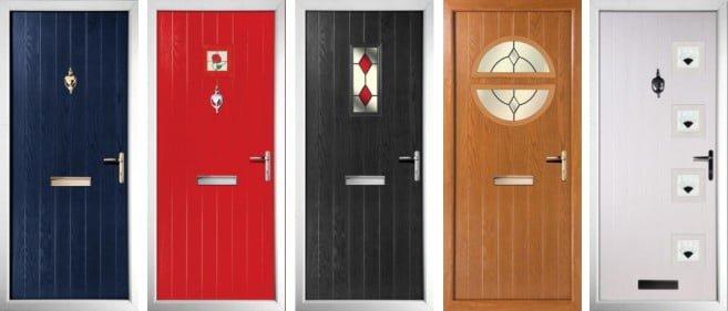 Solitaire Composite Door